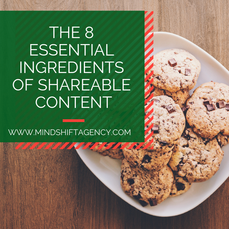 The 8 Essential Ingredients Of Shareable Content